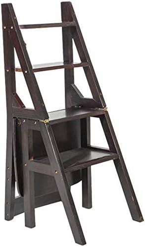 GOG Taburete para adultos, taburete con escalera negra Silla de escalera plegable para el hogar Taburete para escalar de 4 capas de doble uso Bastidor de flores portátil/Banco de zapatos/Estante: Amazon.es: Bricolaje