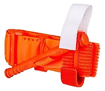 North American Rescue 30-0023 C-A-T Combat Application Tourniquet, Rescue Orange
