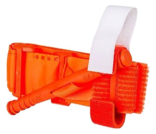 North American Rescue 30-0023 C-A-T Combat Application Tourniquet, Rescue Orange by North American Rescue