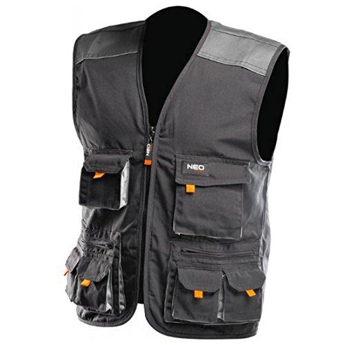 Profi Arbeitsweste Arbeitsbekleidung Berufskleidung Arbeitsjacke Weste Größe M