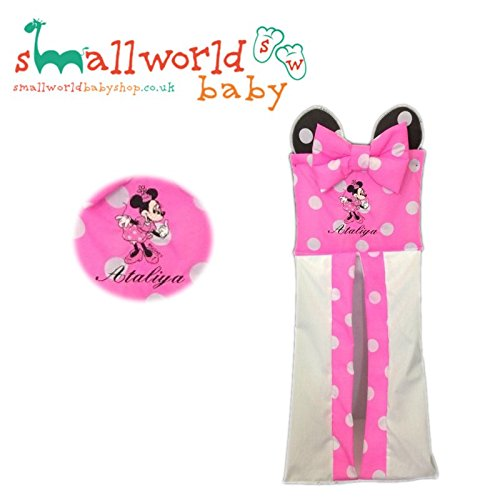 Personalised Minnie Mouse Nappy Stacker Small World Baby Shop
