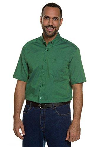 JP 1880 Homme Grandes tailles Chemise à manches courtes vert 4XL 708244 41-4XL