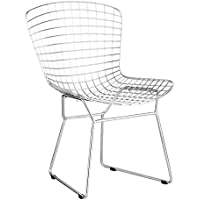 Zuo Wire Dining Chair (Set of 2), Chrome