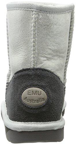 Emu Women's Stinger Ankle Boots, Rose Gold Silver (Argento)