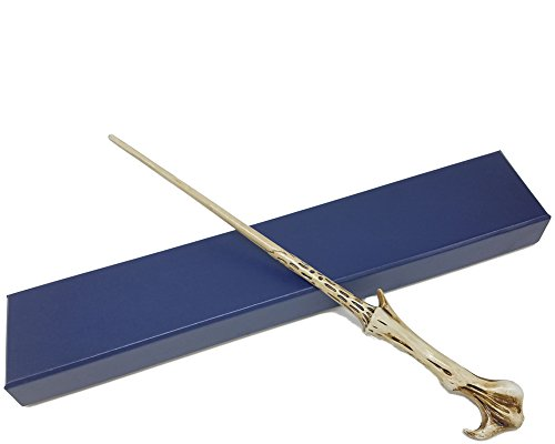 Black Wizard Magic Wand for Costumes Accessory with Collector's Staff Box -
