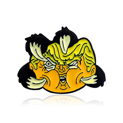 Novelty Enamel Lapel Pins For Hats Backpacks T-Shirts - More Styles Available (Hawk's - For Hawk Girls Backpack