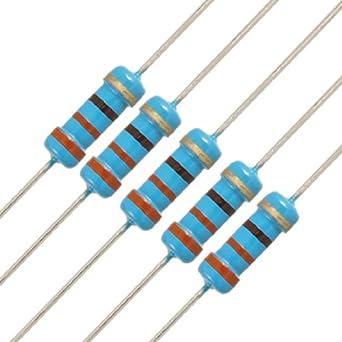430 ohm 1//2 Watt Carbon Film Resistors 5 pieces