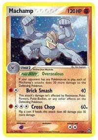 (Pokemon - Machamp (11) - EX Power Keepers - Holofoil)