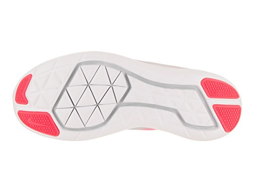 Zapatillas Nike Kids Flex 2017 Rn (gs) Running Pink / Black / Pure Platinum / Lava Glow