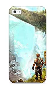 Bruce Lewis Smith Fashion Protective Xenoblade Chronicles Case Cover For Iphone 5c