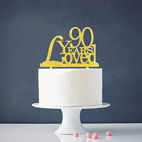 Pleasant 90Th Birthday Cake Toppers Shop 90Th Birthday Cake Toppers Online Personalised Birthday Cards Veneteletsinfo