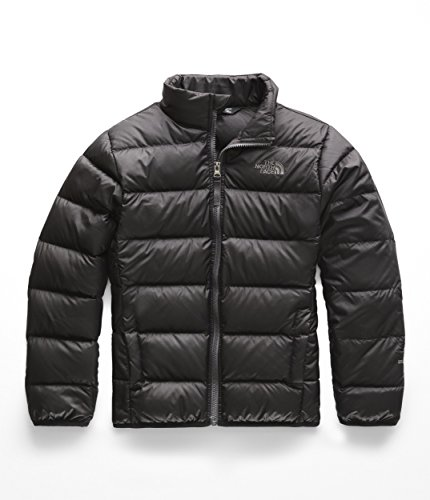 The North Face Kids Boy's Andes Jacket (Little Kids/Big Kids) TNF Black/Graphite Grey Large