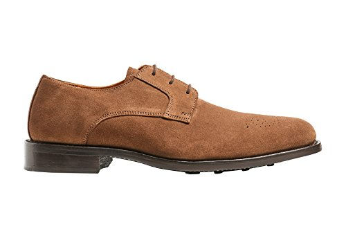 Carlos by Carlos Santana Mens Gypsy M Derby With Medallion Oxford In Goodyear Welted Construction Honey Brown iSRuG