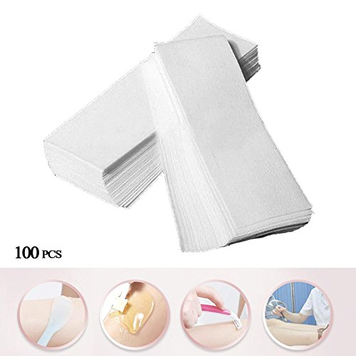 Wine Lug (100 PCs Professional Armpit Leg Bikini Eyebrow Hair Removal Wax Paper Depilatory)