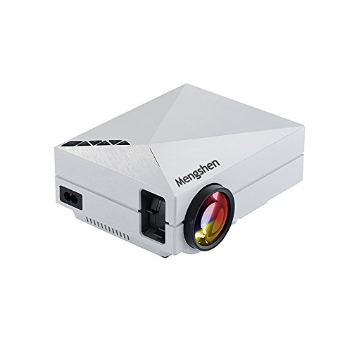 "Mengshen Full Color 130"" LED Projector Portable Mini HD 1..."