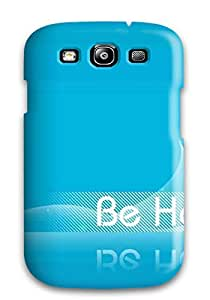 Hard Plastic Galaxy S3 Case Back Cover,hot Happy Blue Case At Perfect Diy