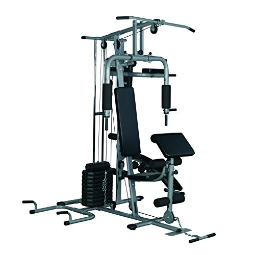 Soozier Complete Home Fitness Station Gym Machine w/100 lb Stack