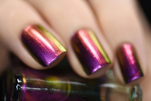 Ilnp Cameo Pink Purple Copper Gold Green Ultra Chrome Nail Polish Buy Online In Uae