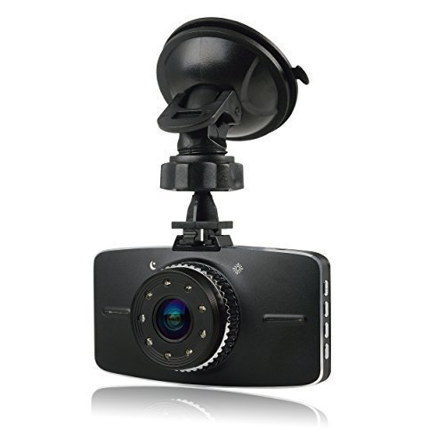 Intcrown C201 Novatek 3.0'' Car Dash Camera Car Video Recorder Car DVR 1920*1080p 30fps G Sensor 170 Degree Wide Angle Lens (DVR) [並行輸入品] B01N5LEGR1