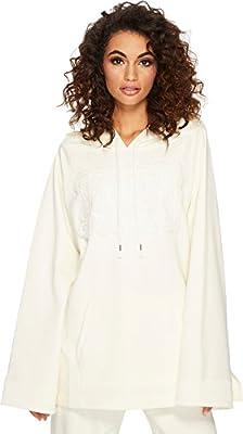 PUMA Womens Fenty Fleece Off The Shoulder Hoodie
