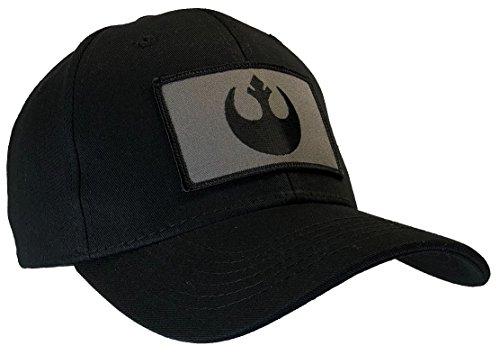 Hawkins Military Merchants Star Wars Rebel Ball Cap Black (Ball Cap Rebel)