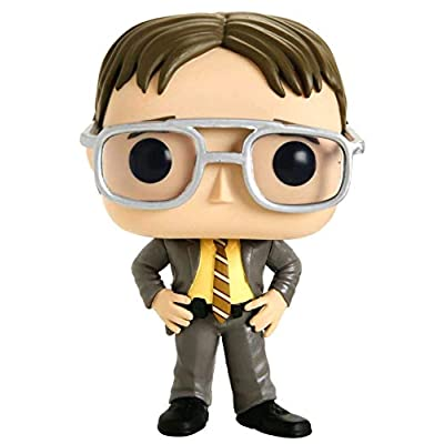 Pop Television: The Office Jim as Dwight Exclusive Vinyl Figure: Toys & Games