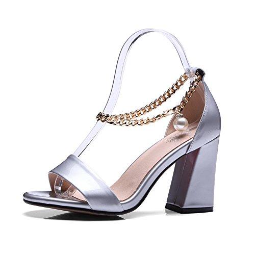 36 Bout SLC04016 5 Silver Argenté Femme AdeeSu EU Ouvert 1qwYYz
