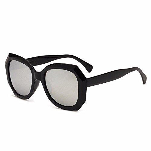 gafas película señora de de colores sol de Aoligei sol Retro B hombre Punk gafas Polígono de Rqx1gwE