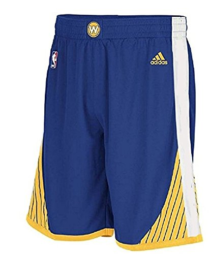 Golden State Warriors Youth Blue Swingman Replica Basketball Shorts by Adidas (L=16-18)