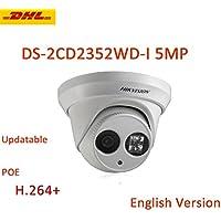 Hikvision Camera DS-2CD2352-I 2.8mm 5MP EXIR Turret Network Camera POE IP67 ONVIF H.264+ IP Camera English Version