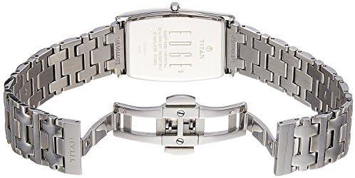 Titan Edge Men s Designer Watch Slim, Quartz, Water Resistant