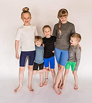 POPINJAY Boys /& Girls Long Sleeve Swim Shirt Rash Guard SPF50 Toddler /& Big Kids