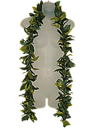 (Hawaiian Maile King Silk Open LEI Graduation Hula Luau )