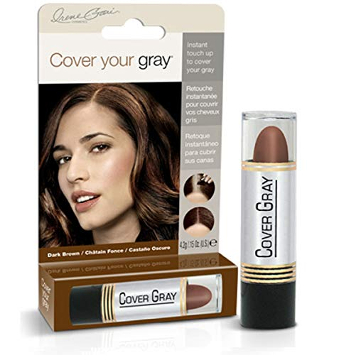 Cover Your Gray Hair Color Touch-Up Stick - Dark Brown (6-Pack)