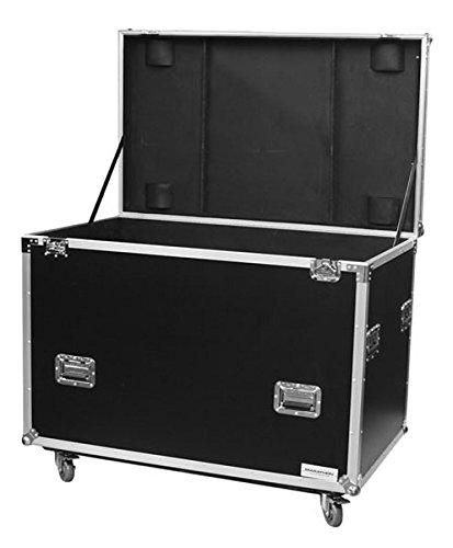 Marathon Flight Road Case MA-Tut50W Utility Trunk Case - Interior Recessed Hardware, Foam Lined Interior, with Casters - 1/2 Inch Plywood by Marathon