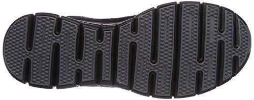 Skechers SynergyFront Row - Zapatillas de deporte Mujer Negro (BBK)