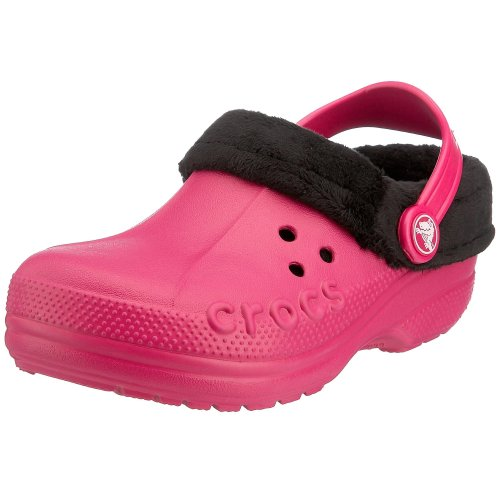 - Crocs Polar Blitzen Clog (Toddler/Little Kid),Berry/Black,6-7 M US Toddler