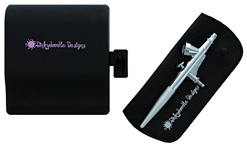 Dinky Doodle Airbrush Machine Kit By Dinkydoodle Designs with Free DVD, Pink by Dinkydoodle