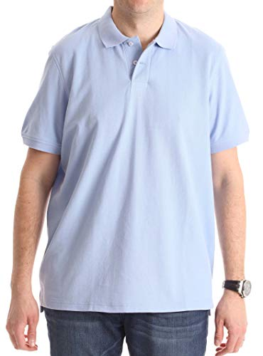 Whiskey and Oak Classic Fit Short Sleeve Polo Shirts for Men 15930-BLU-3XL Sky Blue ()