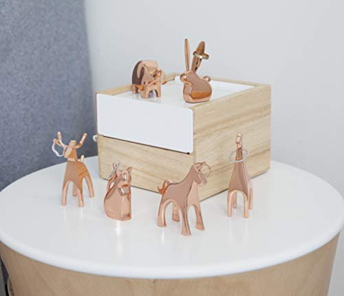 Umbra Anigram Unicorn, Copper Ring Holder