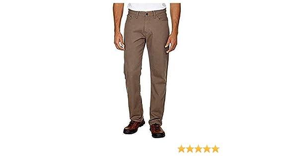 Color:Taupe Weatherproof Vintage Men's Fleece Lined Classic Straight Leg Jean