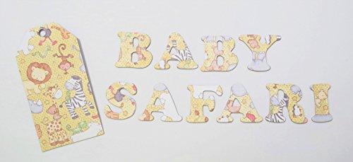 Baby Safari Pattern HandCut 1.5