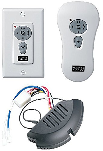 Monte Carlo CK300 Fan Controls Combo Remote Control Kits - Monte Carlo Wall Fan
