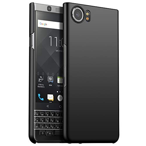 GOGODOG BlackBerry Keyone Case Full Cover Ultra Thin Matte Anti Slip Scratch Resistant for BlackBerry Keyone (Black) by GOGODOG