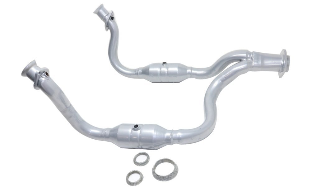 Evan Fischer Catalytic Converter 08-10 Ford F-250/F-350/F-450 Super Duty Front