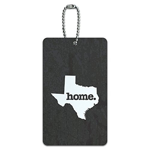 Texas State Luggage Suitcase Carry