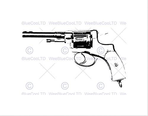 Amazon Com The Art Stop Painting Drawing Gun Pistol Revolver