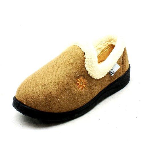 Pantofole Suola Con Donna Esterna Camel 8xxSCnO