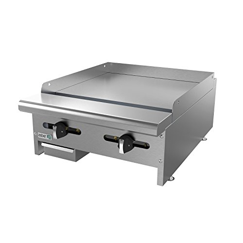 Griddle, natural gas, countertop, 24