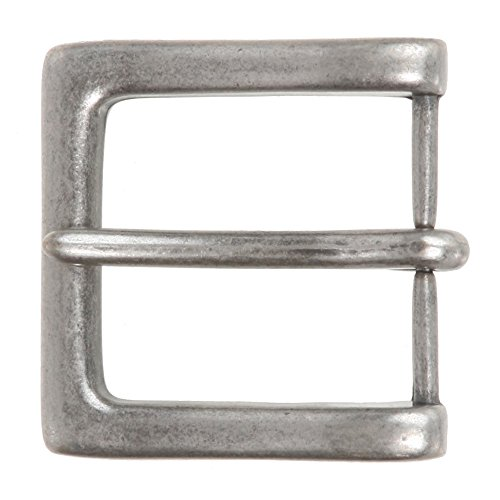 Nickel Single Prong Square Buckle